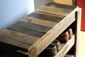 Entryway Storage Bench Plans Free Pallet Shoe Rack 101 Pallets