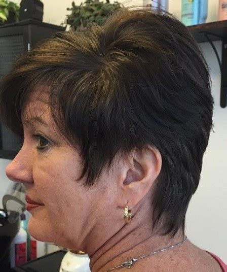 short hairstyles with bangs for over 50 15 short hairstyles for women over 50