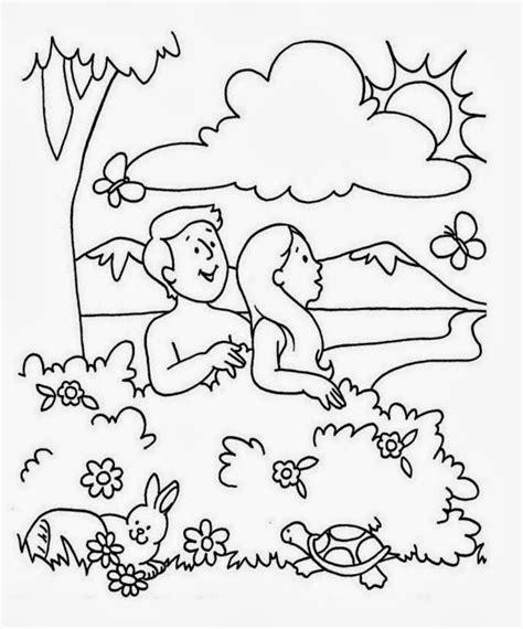dibujos para colorear de adan y eva me aburre la religi 211 n ad 193 n y eva para preescolares