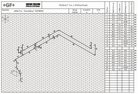 Angebot Vorlage Shk Isometrische Darstellung Rohrleitungen Bild Shkwissen Haustechnikdialog