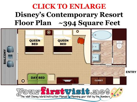 Disney World Floor Plans - review disney s contemporary resort yourfirstvisit net
