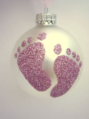 baby footprint ornament diy diy baby footprint ornament
