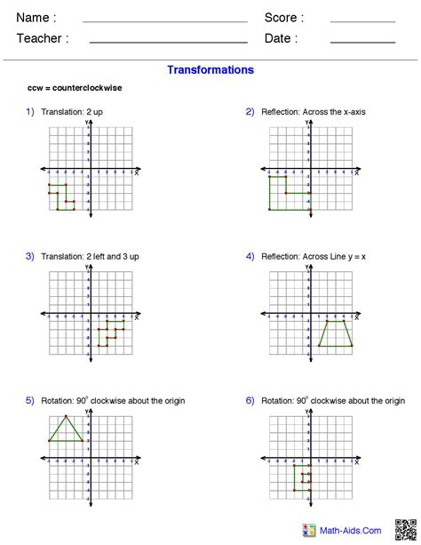 printable hiv quiz reflections worksheet math aids reflections best free