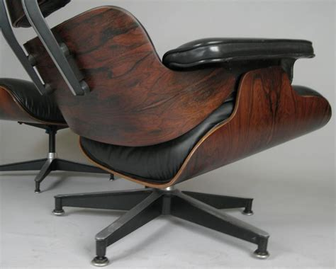 vintage eames lounge chair and ottoman vintage rosewood and leather eames lounge chair and
