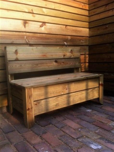 storage deck bench 1000 ideas about deck storage bench on pinterest deck