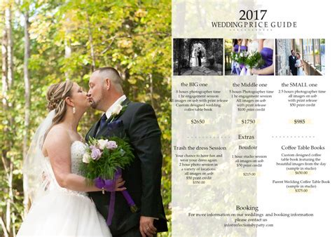 Photography Packages by Wedding Photography 2017 Wedding Packages Orangeville