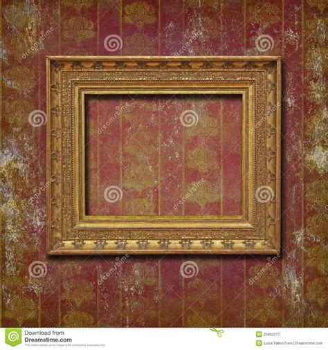 grunge flower frame royalty free stock image image 3187236 golden frame on burgundy grunge wallpaper stock image image 25802217