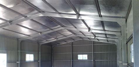 Insulating Sheds by Insulating Your Shed Retrofitting Shed Insulation