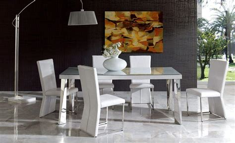 modern white dining room set table and chairs sets italian dining furniture luxury