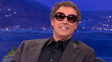 will ferrell glasses will ferrell enjoys wearing ladies sunglasses conan on