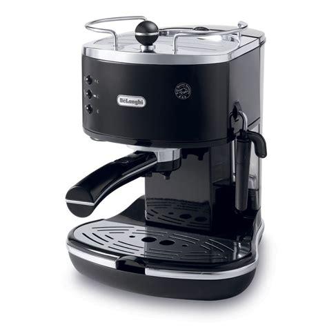 Delonghi Coffe Maker Eco310 W eco 310 black espresso icona delonghi coffee maker by
