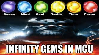 Marvel 5 Infinity Stones Infinity Stones Gems In Marvel