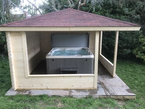 log cabin hot tub covers tuin tuindeco blog