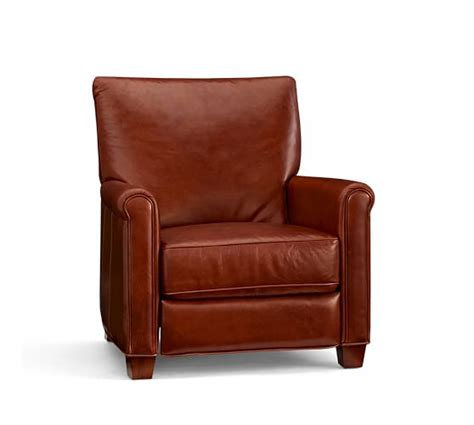 irving leather armchair save 75 off at pottery barn premier event on furniture home decor holiday