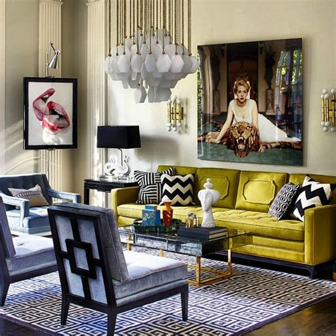 jonathan adler living room winter mood colorful living room ideas to copy from