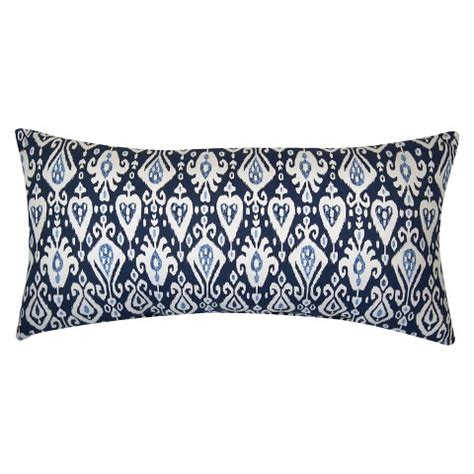 Target Threshold Outdoor Pillows by Threshold Outdoor Pillow Blue Ikat Target
