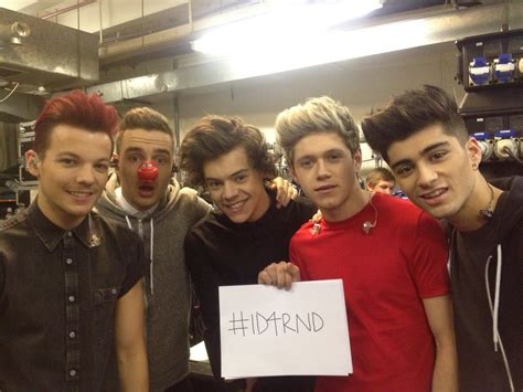 one direction red nose day one direction images one direction in comic relief red