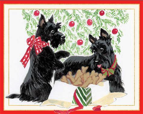 scottie dog christmas cards scottish terrier christmas cards scottie christmas cards scotty