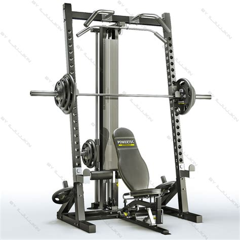 powertec ab bench powertec wb hr10 workbench half 3d model
