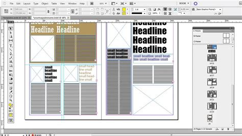 adobe indesign book templates free free magazine indesign templates