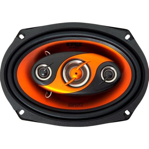 Speaker Oval Kenwood edge ed209 300w 4 way 6x9 car stereo speakers oval shelf ebay