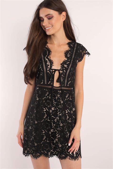 black dress black dress black lace overlay dress
