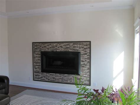 glass enclosed fireplace the custom carpenter fireplaces