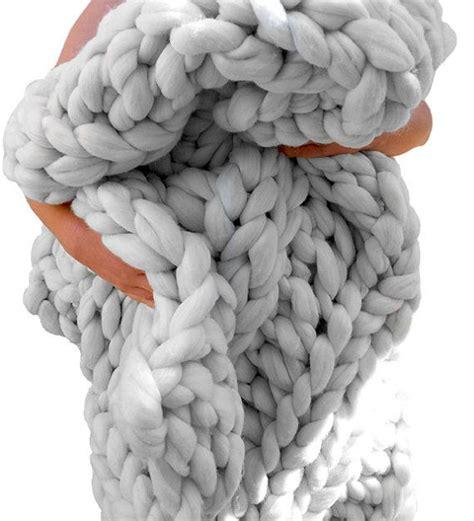 Grob Gestrickte Wolldecke by 220 Ber 1 000 Ideen Zu Grobstrick Decken Auf