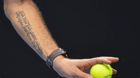 tattoo fail better a tribute to the tennis fan the elan of all beings