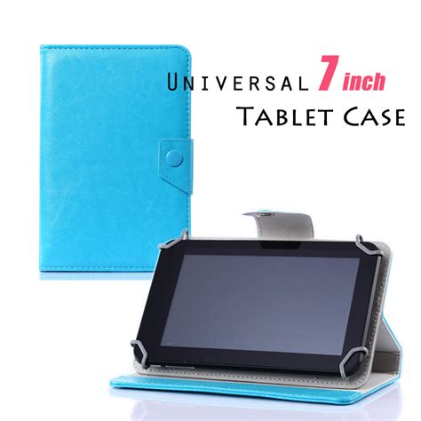 Lcdompet Tablet Universal 7in color pu leather stand cover for 7 inch tablet pc universal 7 quot tablet funda para