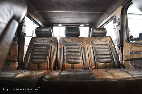 customized g wagon interior wait until you see this g wagen s custom interior mbworld