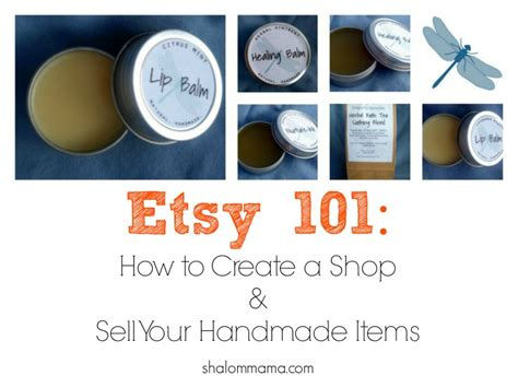 How To Sell Handcrafted Items - etsy 101 how to create a shop and sell your handmade