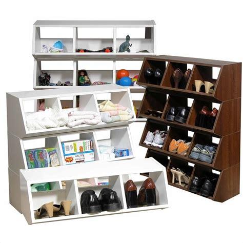 stackable bin storage cabinets venture horizon multi purpose stackable bins storage