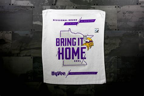 vikings to celebrate quot bring it home quot caign leading up