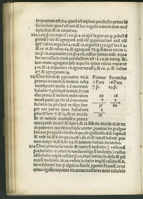 gerolamo cardano formula mathematical treasures gerolamo cardano s practica