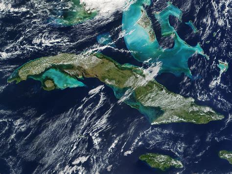 travel from jamaica to cuba by boat nasa visible earth cuba bahamas and jamaica