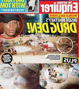 upclose national enquirer whitney houston photo in whitney houston national enquirer bathroom photos