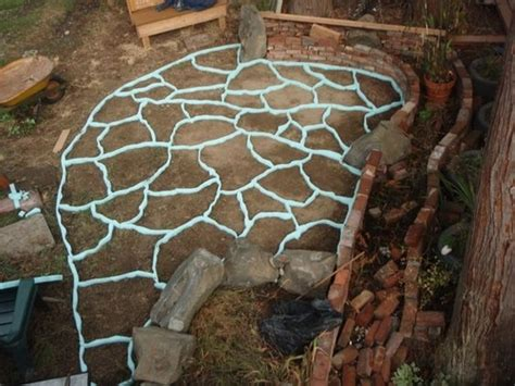 Concrete Patio Forms by Foam Forms For A Concrete Patio Gardening Joys