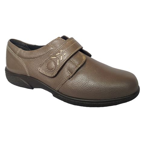 wide shoes db shoes womens healey seal velcro wide fitting shoes