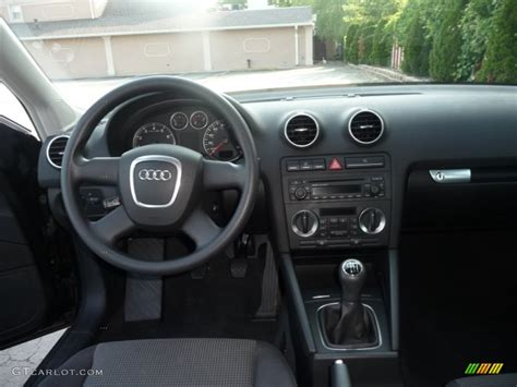 audi a3 dashboard 2006 audi a3 2 0t black dashboard photo 50121774