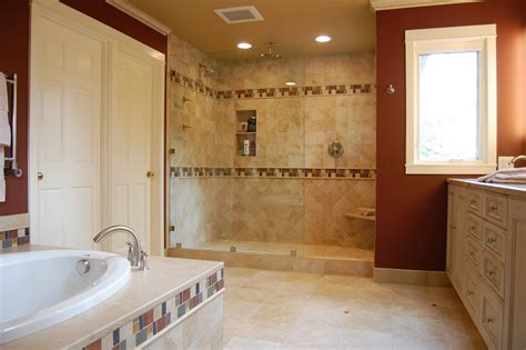 modern concept of bathroom shower ideas and tips on