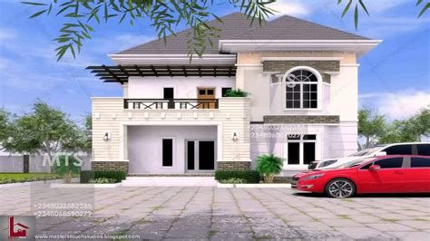 How To Find House Plans by 5 Bedroom Duplex House Plans In Nigeria Youtube