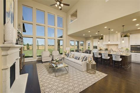 perry homes firethorne model home design 4931s in katy