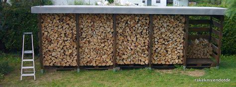 feuerholz gestell einen stabilen brennholzunterstand brennholzschuppen gut