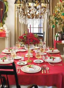 Christmas Table Settings by 45 Amazing Christmas Table Decorations Digsdigs