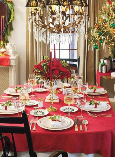 christmas dinner decorations 45 amazing christmas table decorations digsdigs
