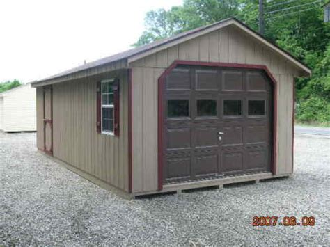 Sheds Pittsburgh by Garage Shed 10x20 From Jd Shed New Warranty 100 Wood 100