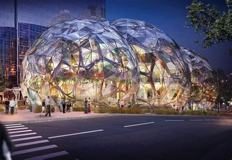 seattle city light locations amazon s new seattle home sounds more like a rain forest