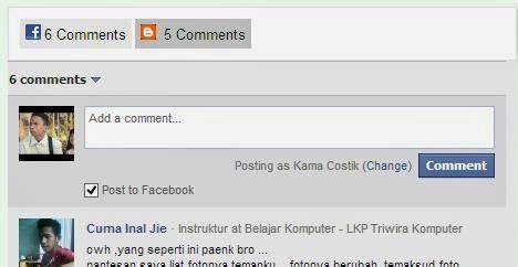 membuat komentar facebook dengan php cara membuat komentar facebook dan blogger dengan model