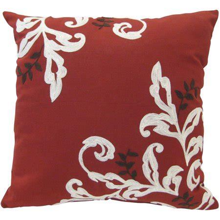 walmart pillows decorative better homes and gardens citrus scroll 18 x18